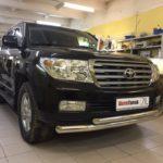 Установка автосигнализации на Тойота Ленд Крузер в сервисе Аларм Томск