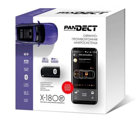 Упаковка Pandect X-1800 BT