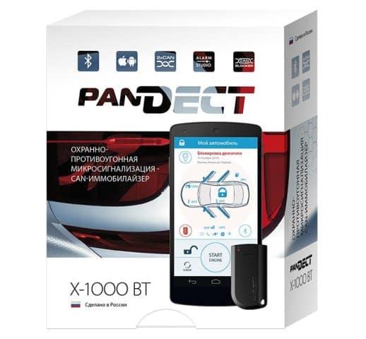 Упаковка Pandect X-1000 BT