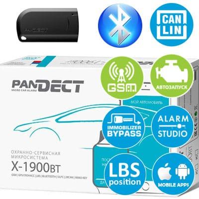 Охранная система Pandect X-1900 BT (Пандект 1900-бт)