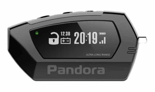 Двусторонний брелок Pandora DX 90B