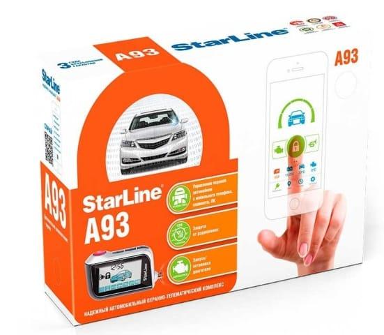 Упаковка StarLine A93 2CAN+2LIN