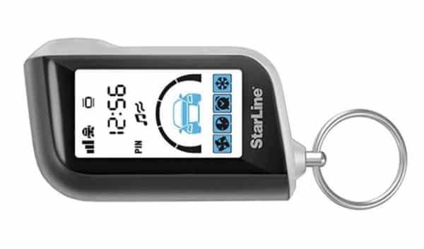 Противоударный брелок StarLine A93 GSM