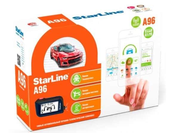 упаковка StarLine A96 GSM 2CAN+2LIN