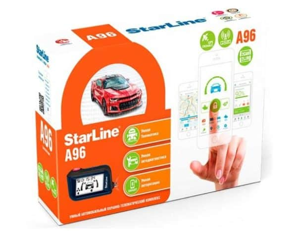 упаковка StarLine A96 GSM GPS 2CAN+2LIN
