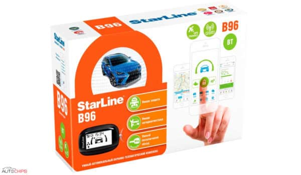 Упаковка StarLine B96 BT 2CAN+2LIN GSM GPS