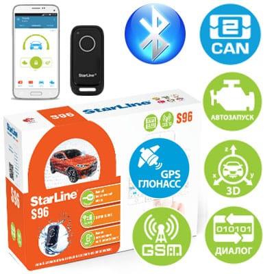 Охранно-телематический комплекс StarLine S96 BT GSM GPS