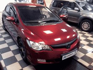 Хонда Цивик в автосервисе Инстал Авто Томск