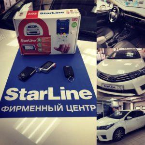 Установка Starline A93 на Тойоту Камри