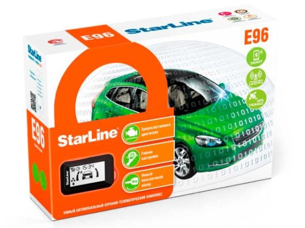 Упаковка starline e96 bt gsm gps