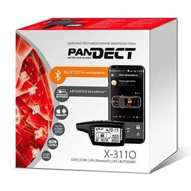 Автосигнализация Pandect X 3110