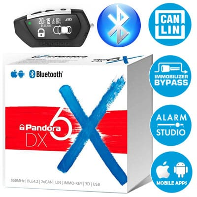 Охранная система Pandora DX 6x (Пандора ДХ 6х)