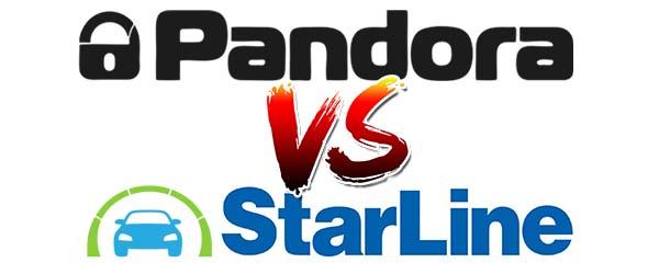 сравнение сигнализации Пандоры со Старлайном