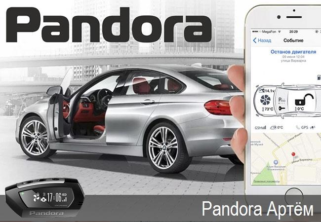 Pandora Артём,официальные представители