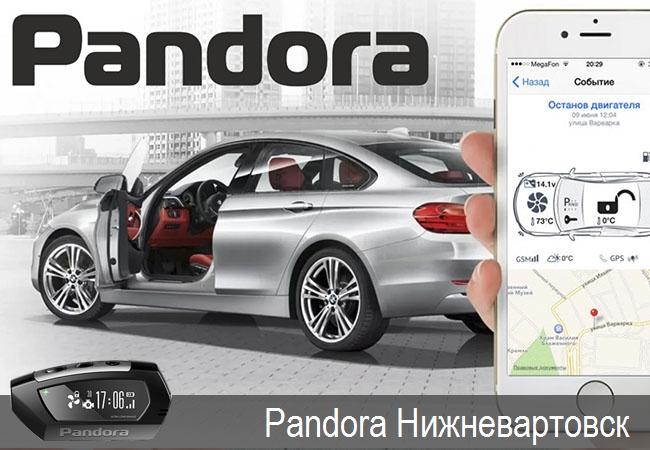 Pandora Нижневартовск,официальные представители