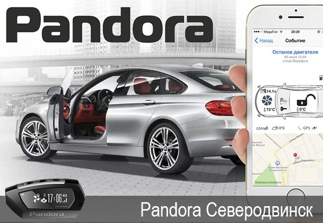 Pandora Северодвинск,официальные представители