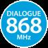 многоканальный RFM-интерфейс на 868 МГц